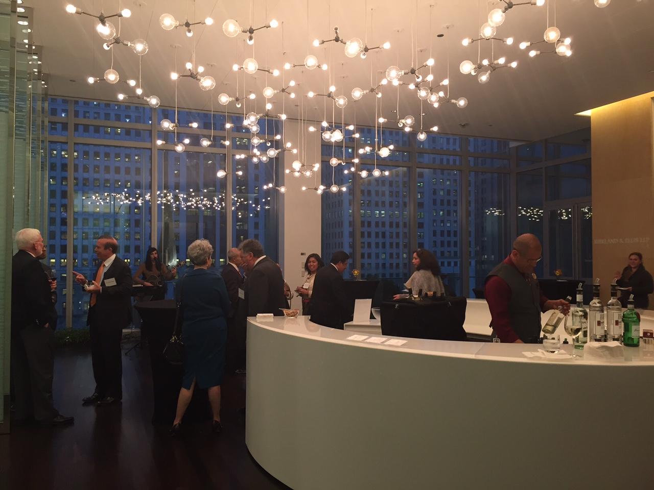 A Wonderful All Bar Presidents Reception