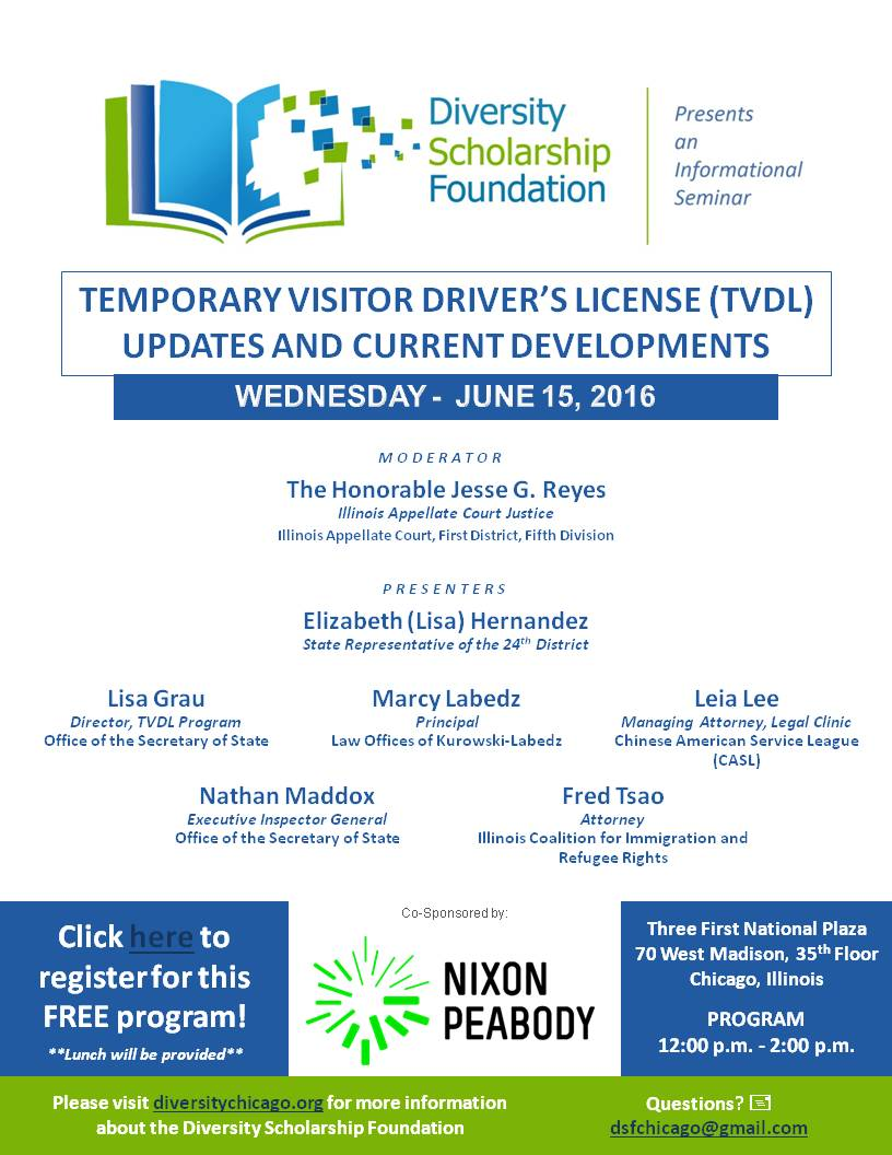 CLE – Temporary Visitor Driver's License Updates and Current Developments