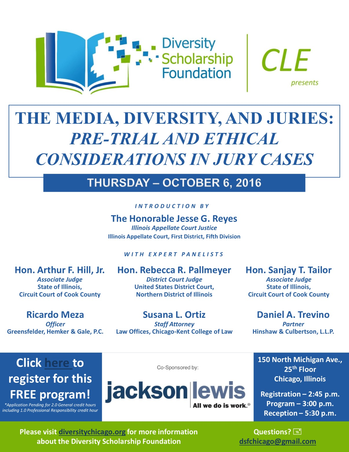 CLE – Ethics in Jury Selection