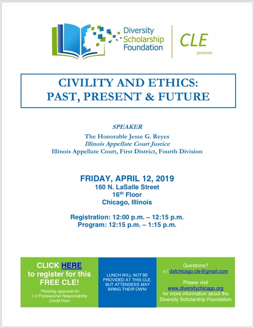 CLE – Civility & Ethics: Past, Present & Future