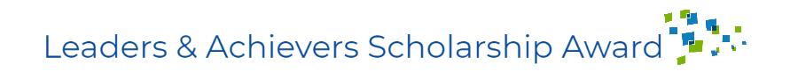 Leaders & Achievers Scholarship Award