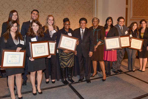 2014 Unity Dinner 6 (scholarship winners1)