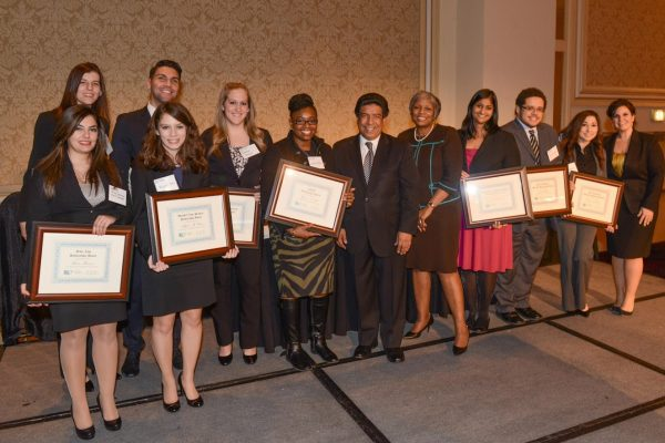 2014 Unity Dinner 7 (scholarship winners2)