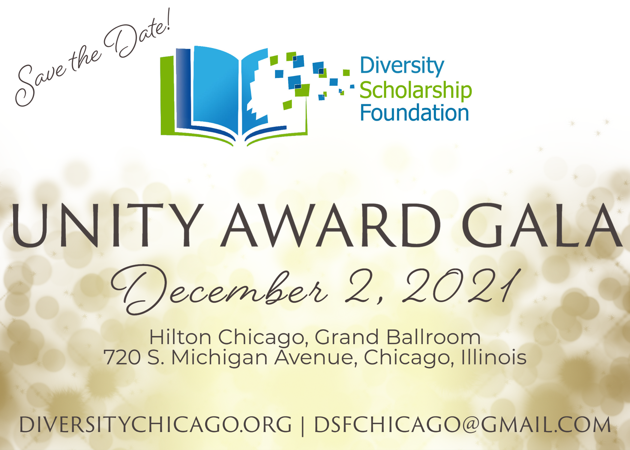 Save the date! Unity Award Gala on December 2, 2021